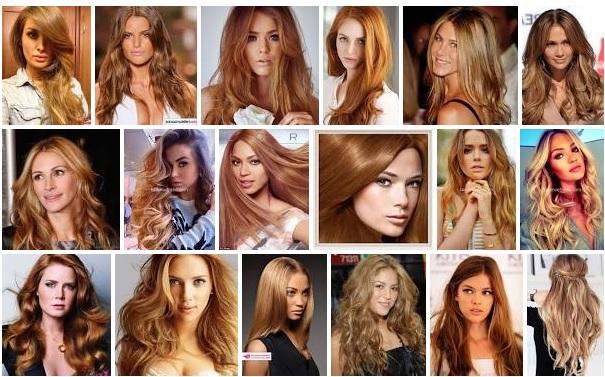 Altın Karamel Saç Rengi Nasıl Yapılır