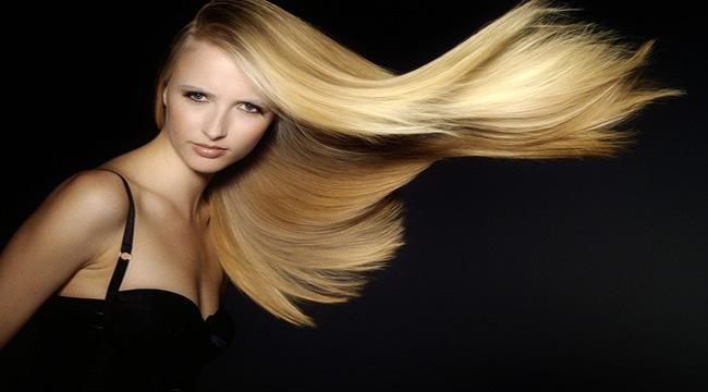 Altın Platin Saç Rengi
