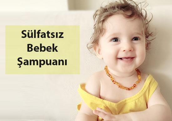 sülfatsız bebek şampuan