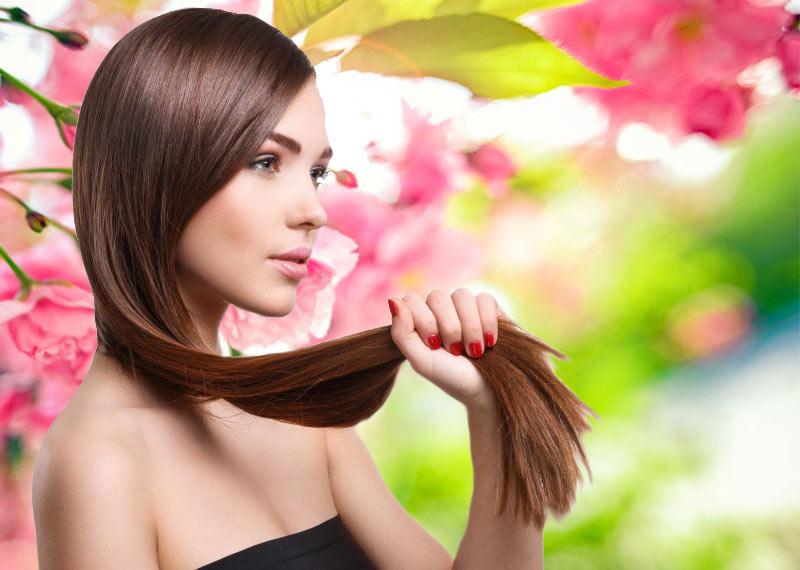 saç uzatma için yöntemler