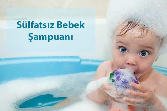 sülfatsız bebek şampuanı